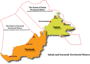 Sabaah & Saarawak Territorial Water